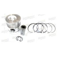Piston & Rings - 5 Ring Version