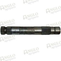 """Spindle Shaft - 340mm Long, 48mm O/D, 1/2"""" Screw for Arm"""