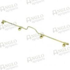 Fuel Injector Leak Off Rail - Perkins A4.212, A4.236, A4.248