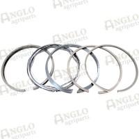 Piston Ring Set - 5 Ring Duaflex - Cord Segments