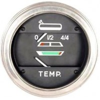 Water Temperature And Fuel Gauge