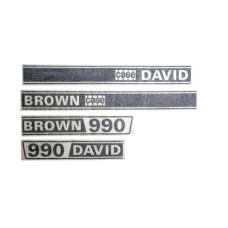 Decal Set - David Brown 990