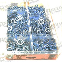 Spring Washers Metric Ass. Pack of 800