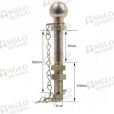 Ball Hitch Pin - 50mm - 25x190mm