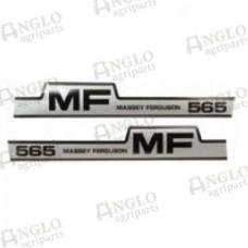 Decal - Massey Ferguson 565