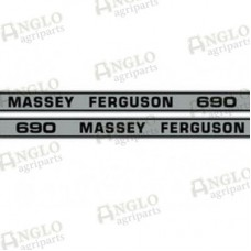 Decal - Massey Ferguson 690