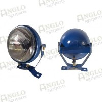 Plough Lamp Blue - Ford New Holland