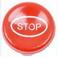 Pull To Stop Knob (Red)