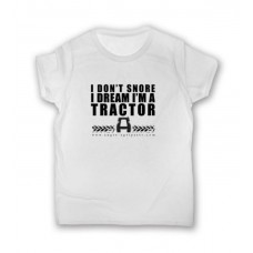 """"""" I DON''T SNORE """" - T-Shirt - Size XXL"""