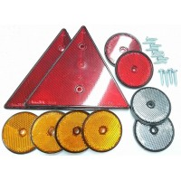 Pack of Trailer Reflectors
