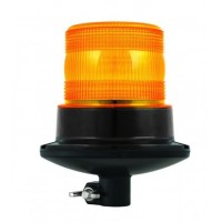LED DIN Mount Flashing Amber Beacon