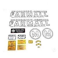 Farmall M Mylar Decal Set 1939 - 1944