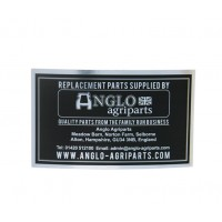 Anglo Sticker Badge