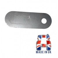 """3/8"""" Wiring Clip - Stainless Steel"""