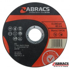 Metal | INOX Slitting Disc Ø115 x 1 x 22.23mm A60TBF