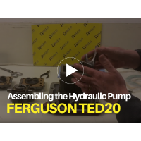 Ferguson TED20 - Assembling the Tractor Hydraulic Pump Video