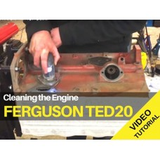 Ferguson TED20 - Cleaning the Engine Tractor Video Tutorial