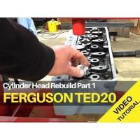 Ferguson TED20 - Cylinder Head Rebuild Part 1 - Video Tutorial