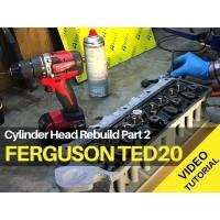Ferguson TED20 - Cylinder Head Rebuild Part 2 - Video Tutorial