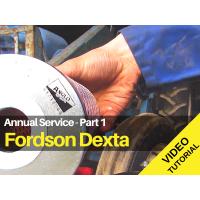 Fordson Dexta Service Video Tutorial - Part 1