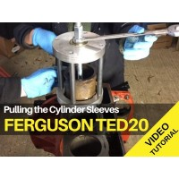 Ferguson TED20 - Pulling the Cylinder Sleeves Tractor Video