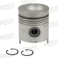 Piston & Pin - Length 129.04mm, Al-Fin Ring - .030 Oversize