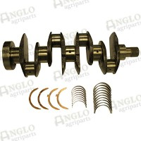 Crankshaft Kit - A4.236 / A4.248 - Lip Seal Balancer Weight (3 Bolt)