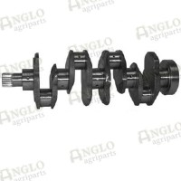 Crankshaft - A4.236 / A4.248 - Lip Seal Balancer Weight (3 Bolt)