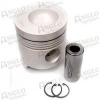 Piston & Pin - .020 Oversize - Length 134.2mm Al-Fin Ring