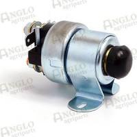 Solenoid Start Switch - Push Button - 12v