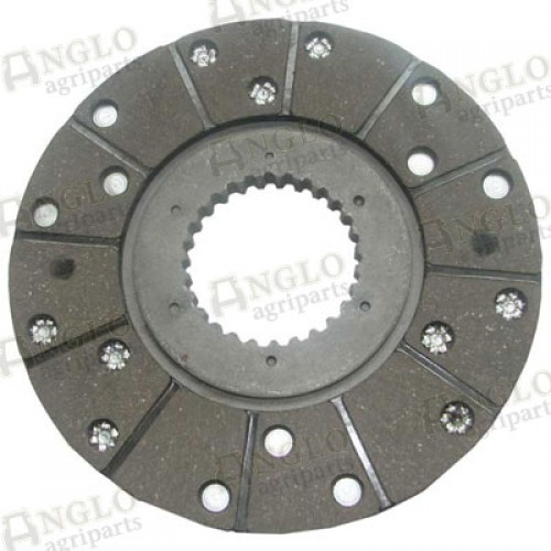 Round Friction Disc : Brake friction disc od mm a anglo agriparts