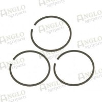 Hydraulic Cylinder Piston Cast Ring Set of 3 - 3
