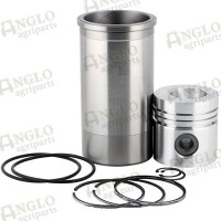 Piston, Ring & Liner Kit - Non Al Fin Piston