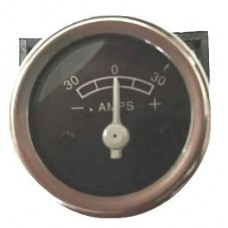 Ammeter - For 41mm Hole - (+30 to -30 Amps)