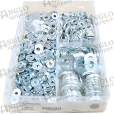 Flat Washers Imperial Ass. Pack of 800