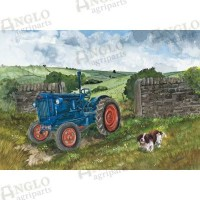 Fordson Major Greeting Card