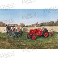 Field Repair Greeting Card
