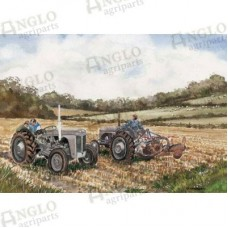 The Ploughing Match Greeting Card