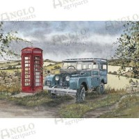 S1 Station Wagon Greeting Card