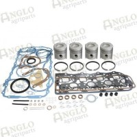 Engine Overhaul Kit - Ford 6410 / 6610 / 6710 - Less Liners