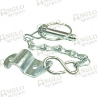 Lynch Pin Chain And Bracket