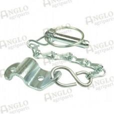 Lynch Pin Chain And Bracket