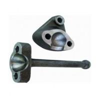Radius Rod Ball Housing & Foot Peg (Front Axle Rod)