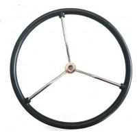 Steering Wheel - Chrome Spoked