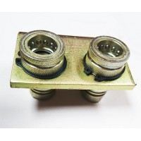 """1/2"""" BSP Twin Hydraulic Realease Couplers"""