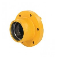 Front Wheel Hub - 6 bolt - Press Cap