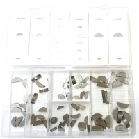 Woodruff Key Set - Metric