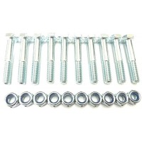 Shear Bolt Pack 10 M8 x 50mm