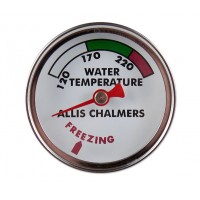 Allis Chalmers B WC WF WD Water Temperature Gauge