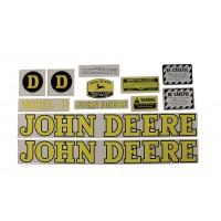 John Deere D Mylar Decal Set - 1939-1946